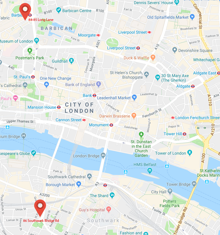 London Locations